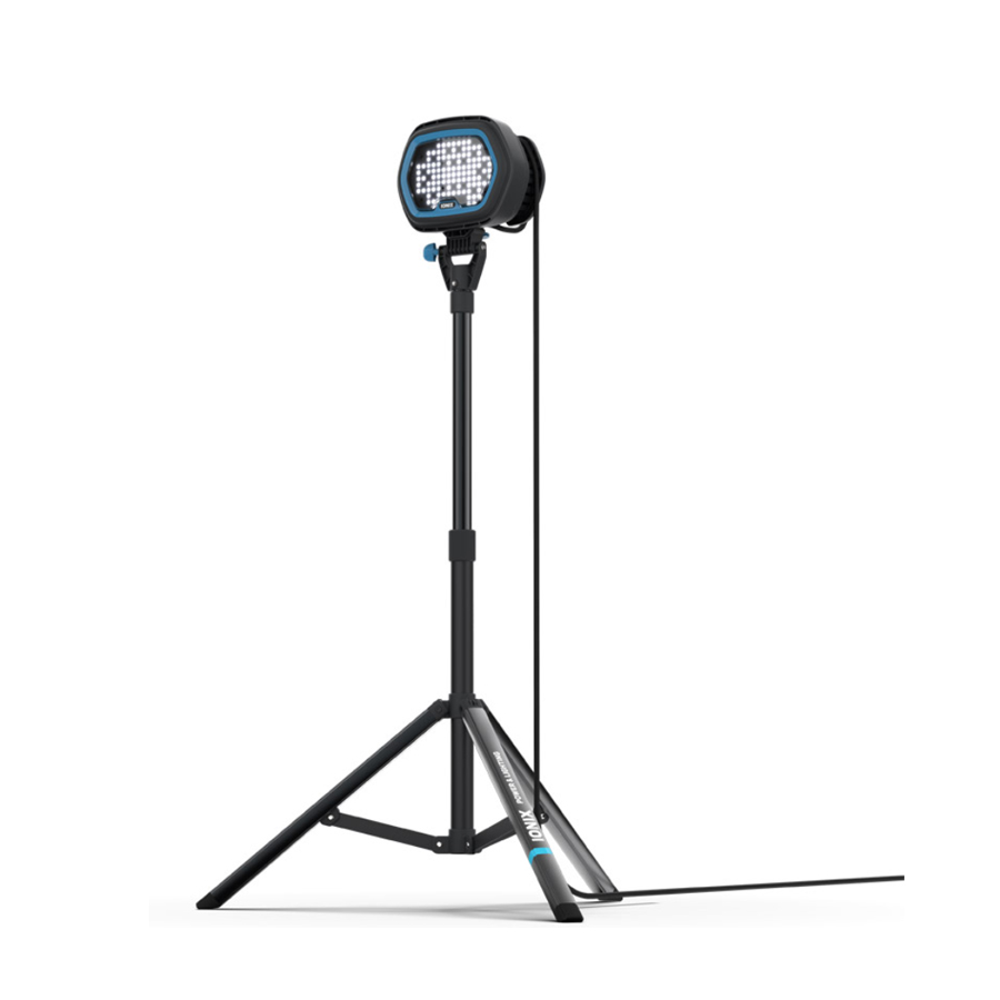 EXION E2  range of high output LED industrial site lighting tripod system