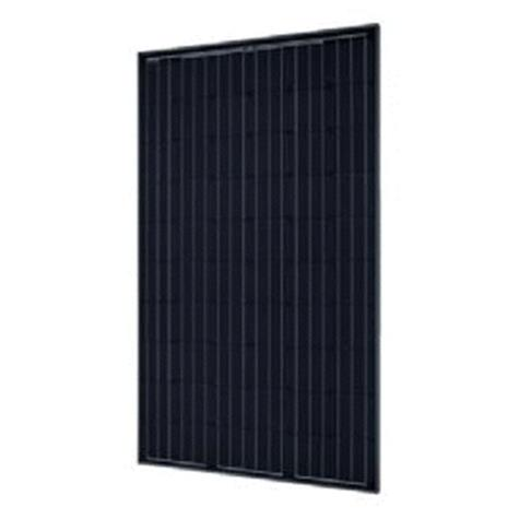 Integrated Black Solar PV Panel By Viridian, The Clearline Monocrystalline Solar Module 270Wp 60 Cell