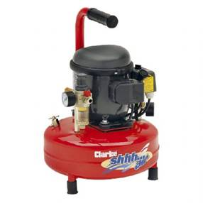 Clarke ShhhAir30/9 Quiet Run Compressor 24.9 Ltrs / Min With 9 Litre Air Receiver 240V~50Hz