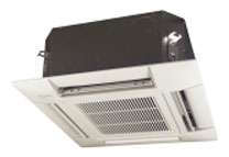 Daikin air conditioning Ceiling-mounted cassette air conditioner blends well with interiors.