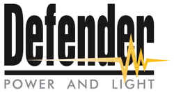 Defender range of LED Lighting Fittings, Task Lights, Festoon, Uplights, Flood and Floor LED's