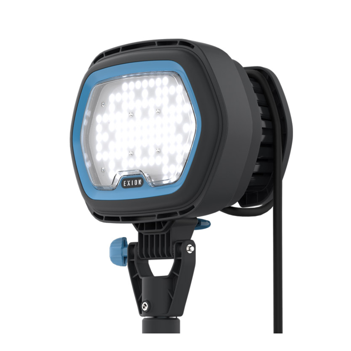 Exion E LED Model EXION E1 range of high output LED industrial site lighting