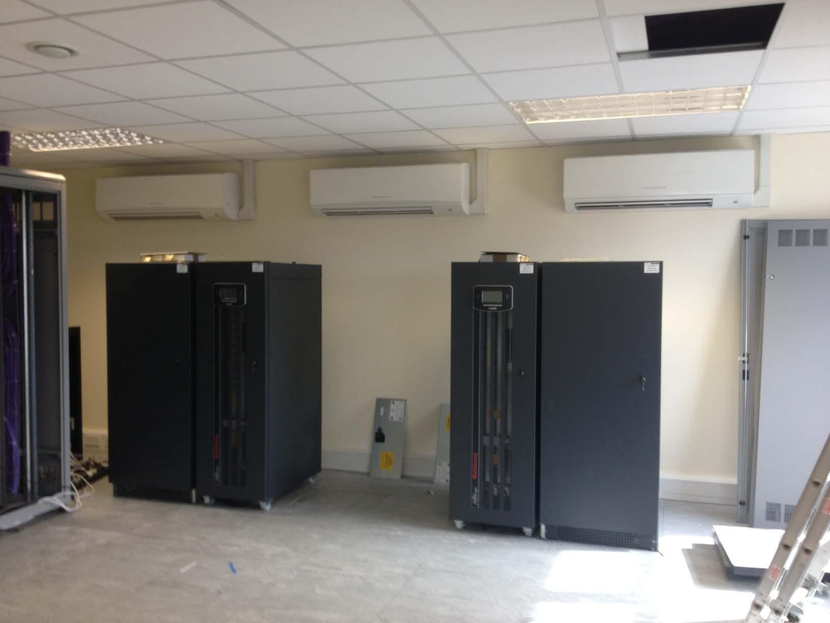 Server Room Air Conditioning At Saga Healthcare Plc