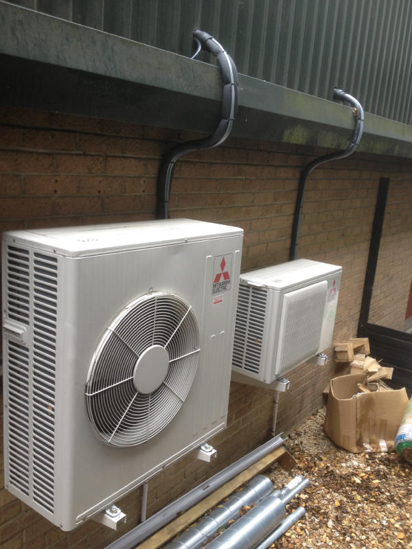 Mitsubishi Electric Air Conditioning Heat Pump Kirigamine