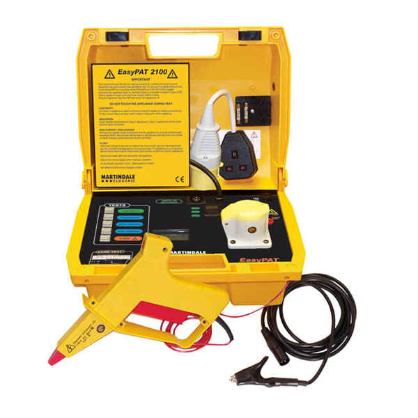 portable electrical appliance testing equipment used by Pattestit