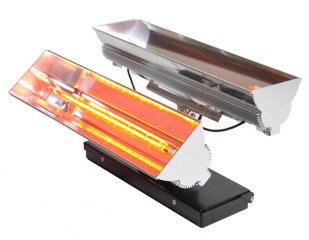 Solaire Axis Double Single 4.0KW Infra Red Heater
