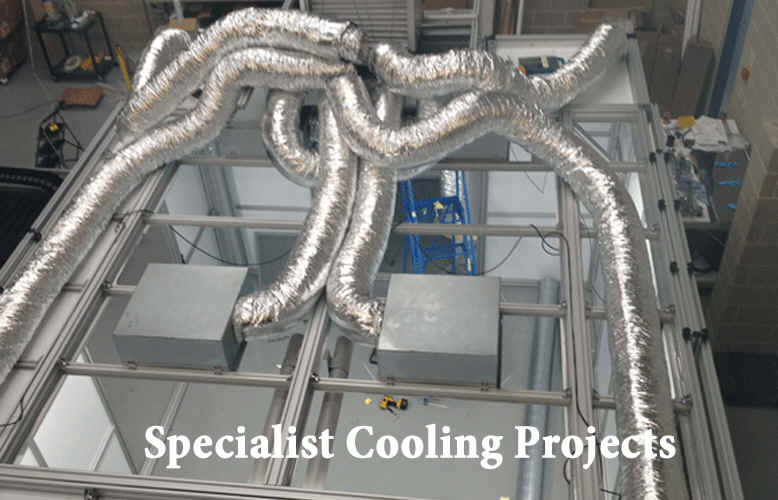 Specialist air conditioning and refrigeration systems